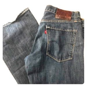 Levis Vintage Capital E Jeans 32x32 Skinner Jeans